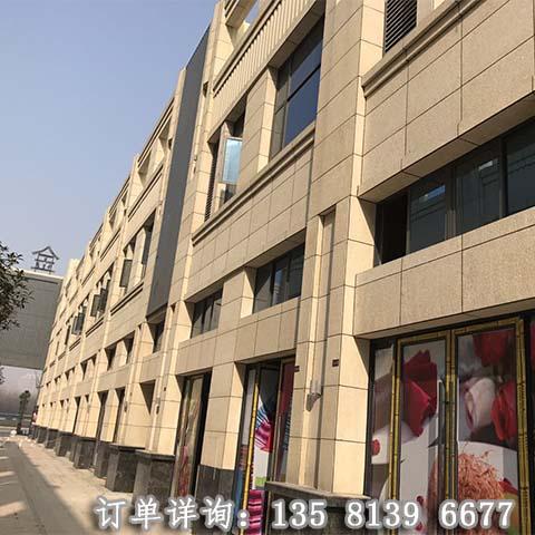 湖北(黄金麻荔枝面商业街)工程案例 外墙效果图