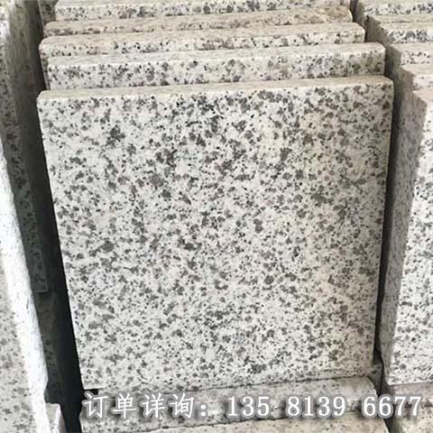 白麻花岗岩   光面白麻石材